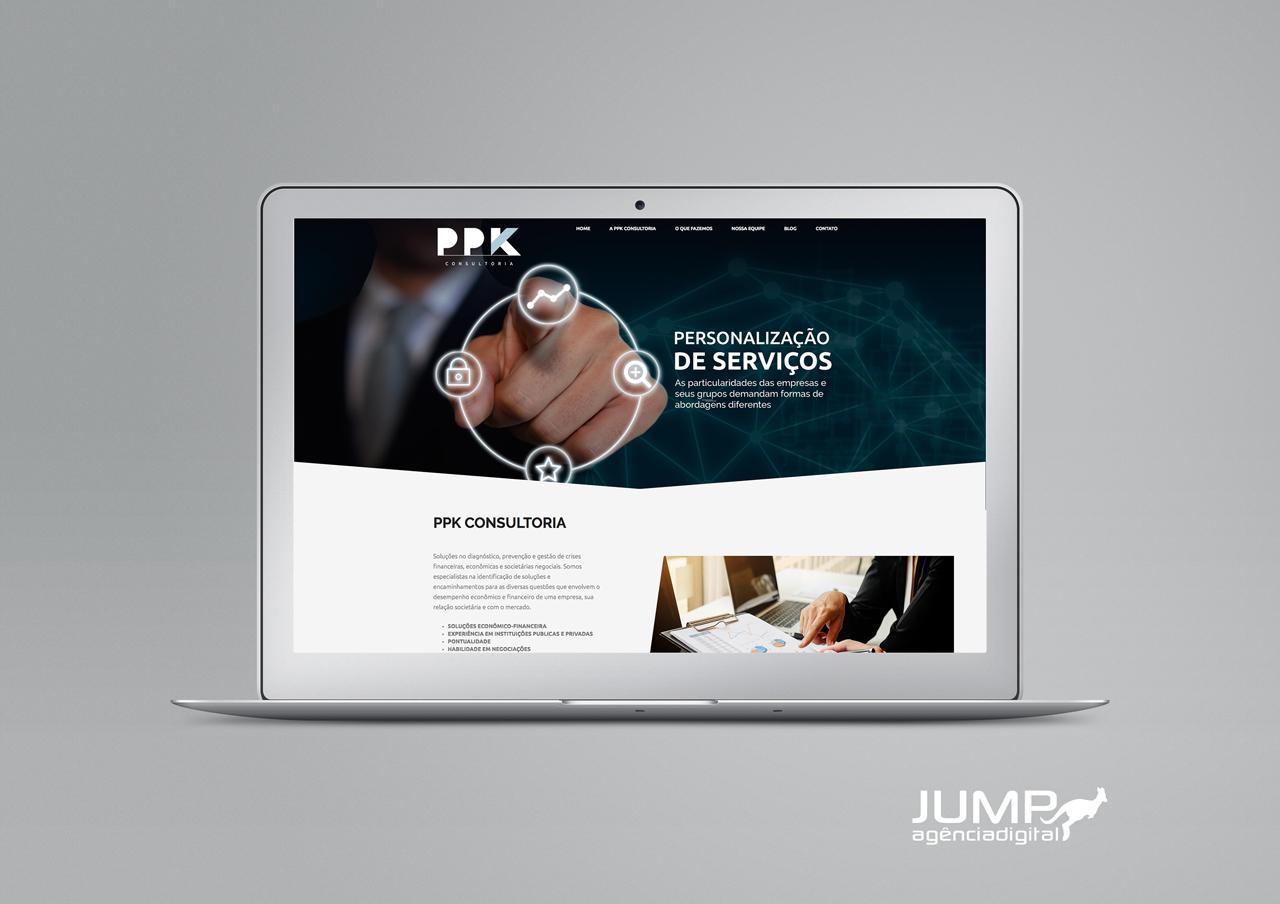 Projeto Website PPK Consultoria