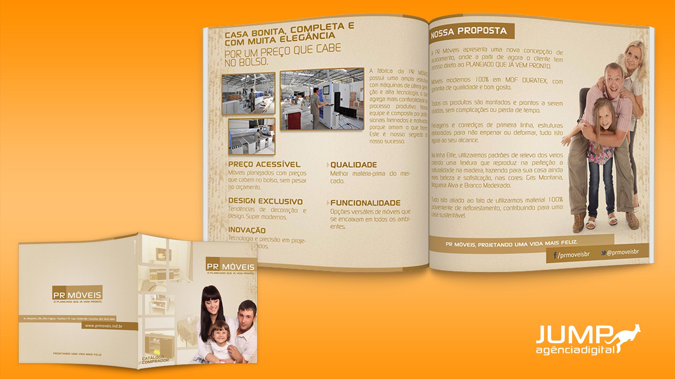 Projeto catálogo PR Móveis